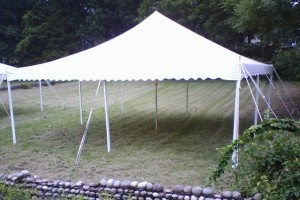20 x 20 Pole Tent in Belvidere, NJ
