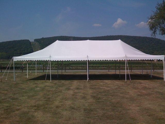 20' x 40' Pole Tent