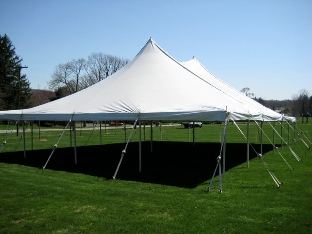 40 x 60 pole tent at centenary college fields super. Black Bedroom Furniture Sets. Home Design Ideas