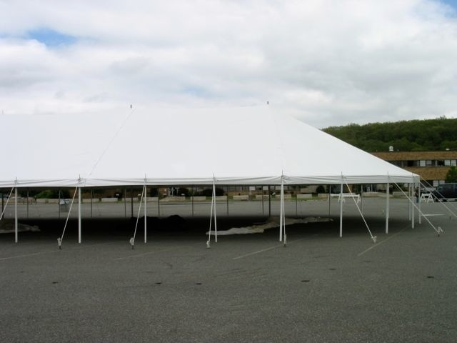 48' wide Pole Tent (Round)