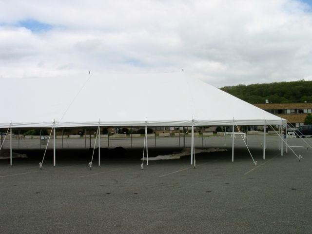 48' wide Pole Tent (Round)