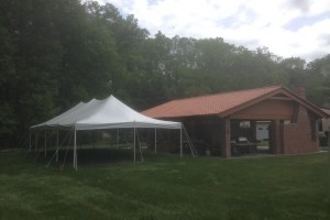 20×40 pole tent Towaco,NJ