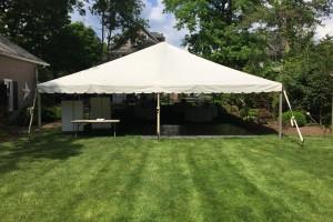 30×60 frame tent Westfield,NJ