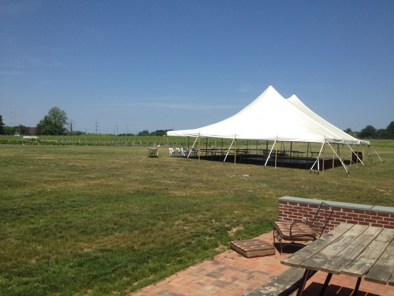 40×60 pole tent Working Dog Winery Hightstown NJ & 40x60 pole tent Working Dog Winery Hightstown NJ - Super Stuff ...