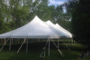 40×80 pole tent Far Hills, NJ