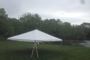 20×20 Frame tent Chester, NJ