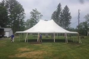 30×40 pole tent Allamuchy, NJ