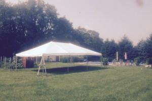 20×30 frame tent Frelinghuysen,NJ