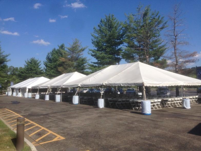 (2)30×45 Frame tents and (1) 30×60 Frame tent on asphalt. RockawayNJ & 2)30x45 Frame tents and (1) 30x60 Frame tent on asphalt. Rockaway ...