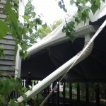 House Style Tent Gutters