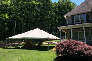 30×30 Frame Tent Washington,NJ