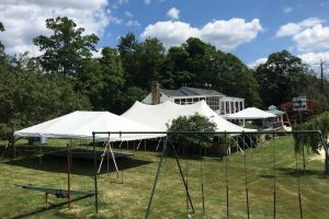 30×60 Pole Tent                    (2) 20×30 Frame Tents          Staging, Dance Floor.             Long Valley, NJ