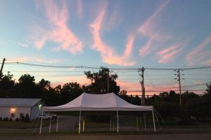 20×30 Pole Tent Hackettstown,NJ