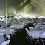 "Linens for 60"" Round Tables"