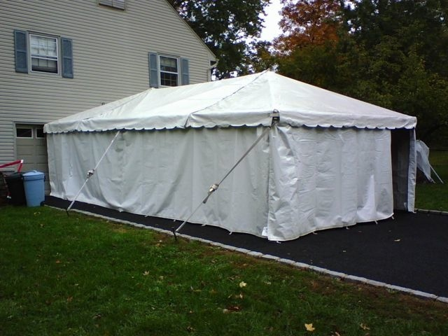 White Tent Sidewalls & White Tent Sidewalls - Super Stuff Party Rental