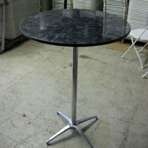 """30"""" Bistro Tables - Marble"""