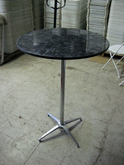 "30"" Bistro Tables - Marble"