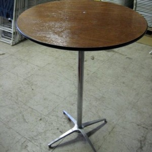 "30"" Bistro Tables - Wood"